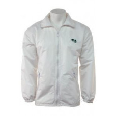 BBS Fleece/Showerproof, Jacket with hood, White
