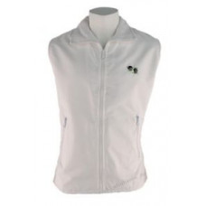 BBS Fleece/Showerproof Bodywarmer, White
