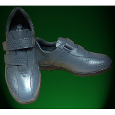 Emsmorn Fusion Trainer with velcro straps, available in grey, size 7 only
