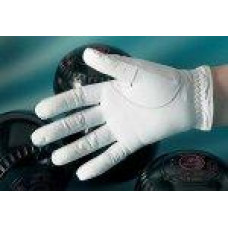 OBG Leather Bowls Glove, Gents, White, left hand only