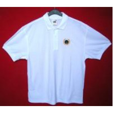 BBS Polo Shirt, Fruit of the Loom, with bowl and laurel motif, XXXL only